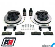 RCM / ALCON 6 Pot Front Brake Kit Black 343mm RCM2932